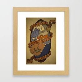 Drowning In Rum Framed Art Print