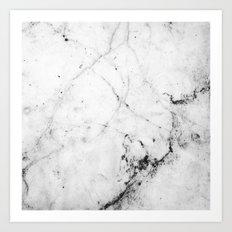 Marble Design Art Print