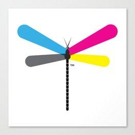 LibelluleMonde Logo Canvas Print