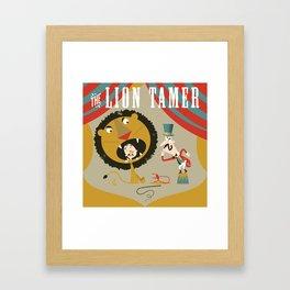 Lion Tamer Framed Art Print