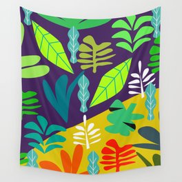 Tropical in two parts Wall Tapestry