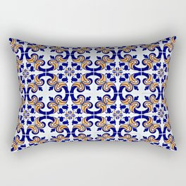 Seamless tile pattern Rectangular Pillow