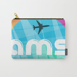 AMS Amsterdam airport Carry-All Pouch