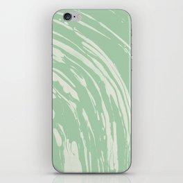 Nagashi Green iPhone Skin