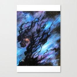 Black Nebula Canvas Print
