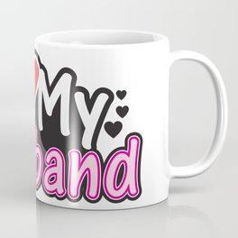I Love My Husband - Couple Match Coffee Mug