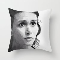 melissa smith Throw Pillows featuring melissa ponzio by Finduilas