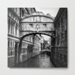 Ponte dei Sospiri | Bridge of Sighs - Venice  Metal Print