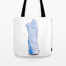Illuminated Structure: Solo Kyanite Tote Bag