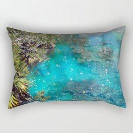 The Blue Lagoon Rectangular Pillow