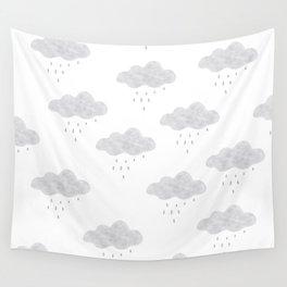 Rainy cloud Wall Tapestry