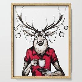 Nightmare Deer Serving Tray
