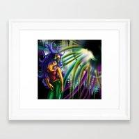 bass Framed Art Prints featuring Bass by A_Wags