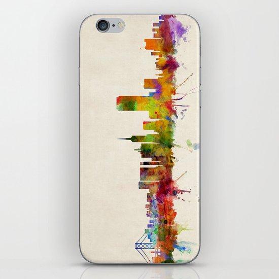San Francisco City Skyline iPhone & iPod Skin