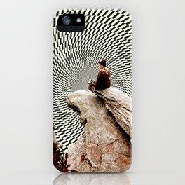 Illusionary Cliff iPhone Case