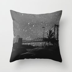 about the makers of time Throw Pillow