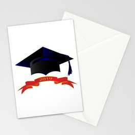 Cap Class Of 2019 Stationery Cards
