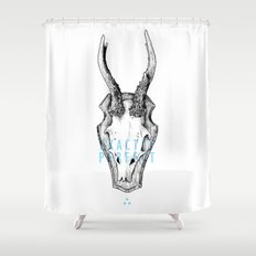 Exactly Perfect  Shower Curtain