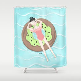 Chill out Shower Curtain