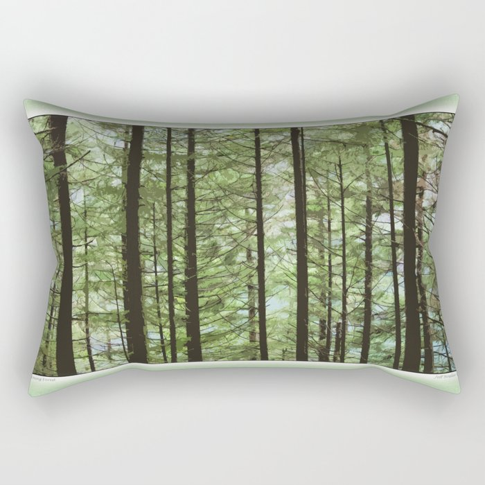 YOUNG FOREST Rectangular Pillow