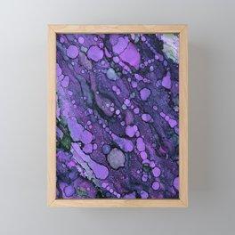 Purple River Framed Mini Art Print