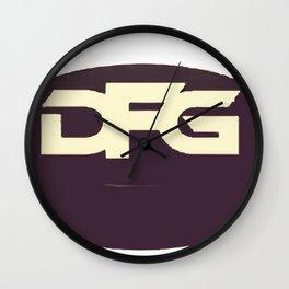 DFG Puck Wall Clock