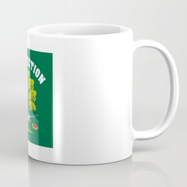 Treejection - Funny Disc Golf Quotes Gift Coffee Mug