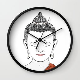 Life of Buddha Wall Clock
