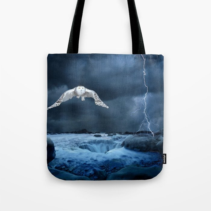Stronger than the storm Tote Bag