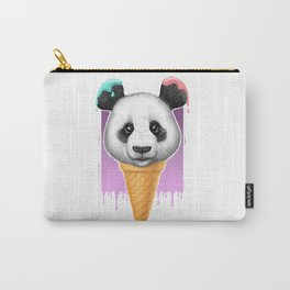 panda ice cream Carry-All Pouch