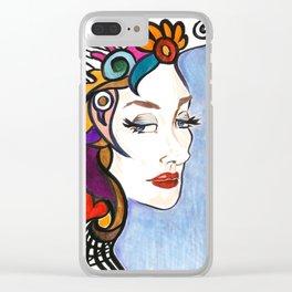 Evangeline Clear iPhone Case