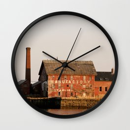 The Paint Factory Wall Clock