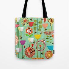 WHERE THE BEES FLY Tote Bag
