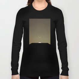 2001 Space Odyssey Minimal Dawn of Man Monolith Alignment Long Sleeve T-shirt