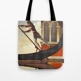 Venice history, gondola Tote Bag