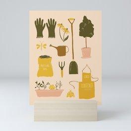 In the Garden Mini Art Print