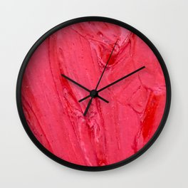 Lapeda Textile Art - 4 Wall Clock