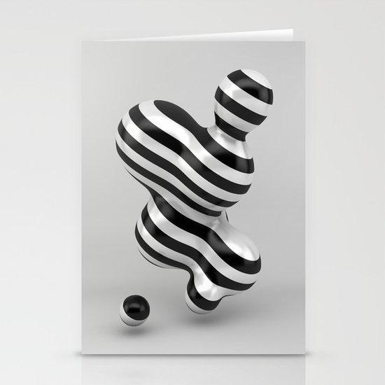 Primitive Stripes Stationery Cards