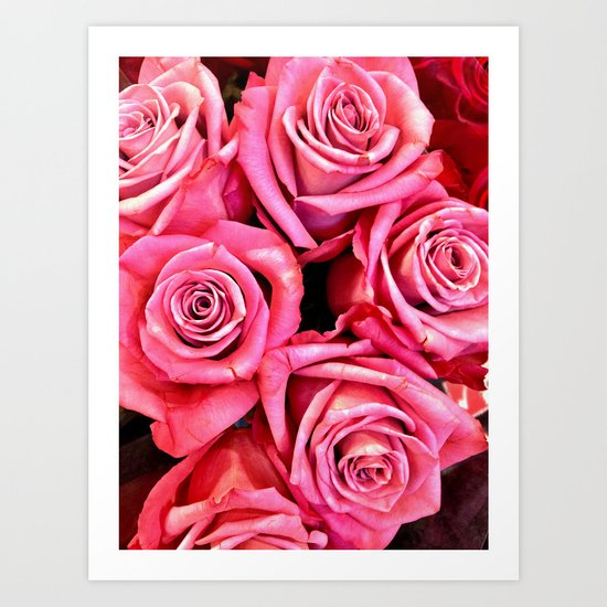 Bunches of Love Art Print