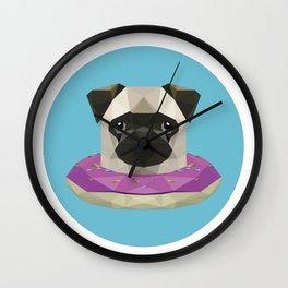 Sweetheart Pug Wall Clock