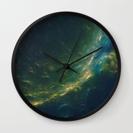 Under.The.Waves Wall Clock
