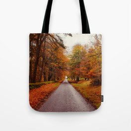 Autumn Road II Tote Bag