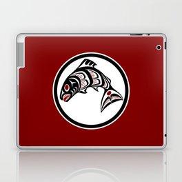 Northwest Pacific coast Haida art Salmon Laptop & iPad Skin
