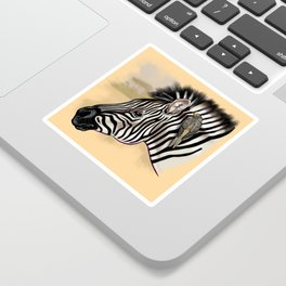 Team Zebra-Oxpecker Sticker