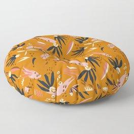 ADOBO GARDEN OCHRE Floor Pillow