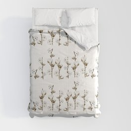 Cotton branches. Comforters