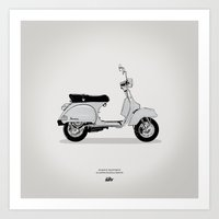 magnani Art Prints featuring Icons 006 by Gianmarco Magnani