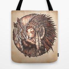 Tiger Lily Tote Bag