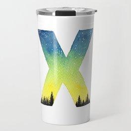 Galaxy Alphabet Series: X Travel Mug