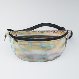 One Door at Plaka-Athens Fanny Pack